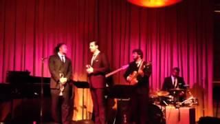 Darius Campbell live at vibrato jazz