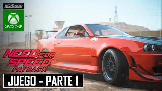 Need for Speed Payback | Campaña (Parte 1) en 5.03 Horas | Español