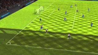 FIFA 14 Android - Crystal Palace VS Liverpool