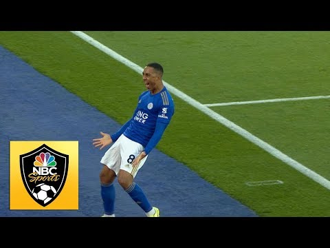 Youri Tielemans puts Foxes in front against Burnley | Premier League | NBC Sports