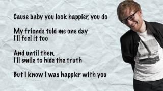 Ed Sheeran  Happier Lyrics