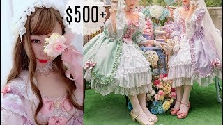 Try On $500+ Elegant Lolita Dress!  The Romantic Vintage Classic Lolita OP Dress!