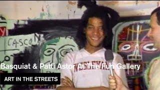 Patti Astor, Fab 5 Freddy, Jean Michel Basquiat- Art in the Streets - MOCAtv Ep. 18