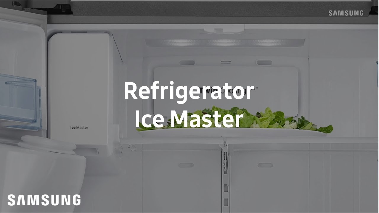 Samsung French Door Refrigerator : Ice Master thumbnail
