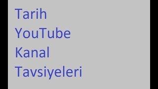 Tarih Kanal Tavsiyeleri [TYT AYT LİSE]