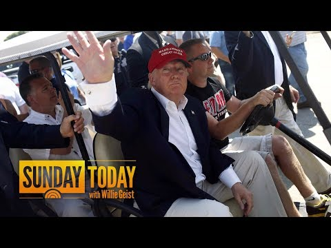 Inside Donald Trump's Fascinating Relationship With His Golf Courses | Sunday TODAY
