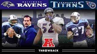 Ray Lewis Silences Nashville (Ravens vs. Titans, 2000 AFC Divisional)   NFL Vault Highlights