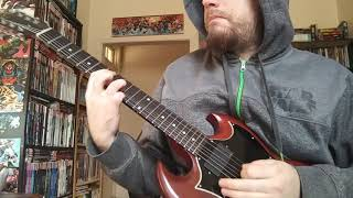 Tired of Being Alive - Danzig (Guitar Cover)