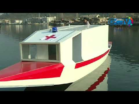 Dal dweller designs first 'water ambulance', wins hearts