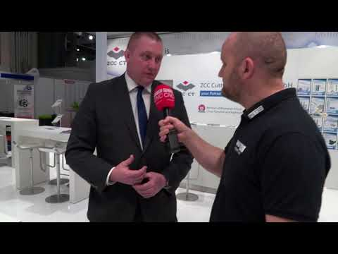 Interview between David Wilsher and MTDCNC at MACH 2018
