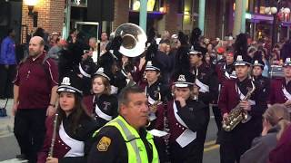 Outback Bowl 2020 Parade at Ybor city Tampa, Florida on new year's eve 12/31/2019