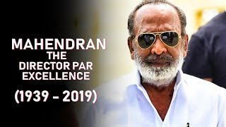 The Journey Of Legendary Director Mahendran | MGR's Hand Picked