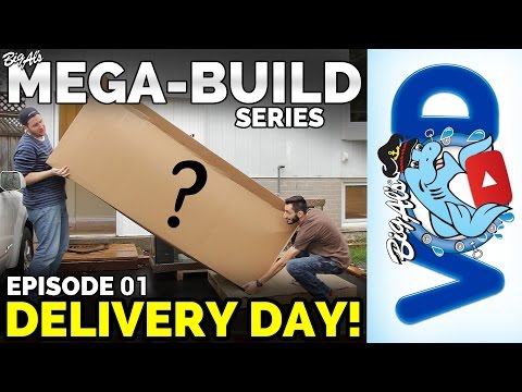 Mega-Build Series Ep 01 – Delivery Day! (Video)