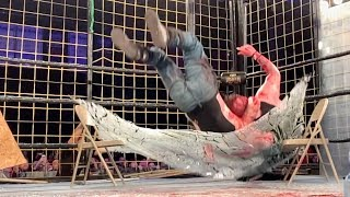 CZW CAGE OF DEATH XX - MANCE WARNER VS. THE WORLD || BLVD BULLIES