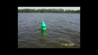 Oznaczenie szlaków wodnych - bakeny, pławy