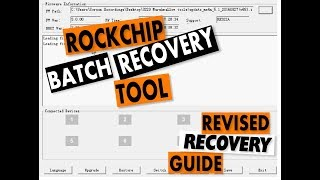 How to easily root any Rockchip RK3288 devices without PC - hmong video