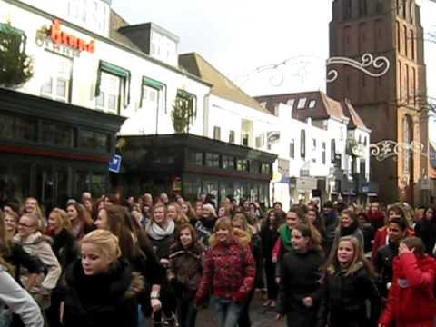 Boxmeer flashmob dance