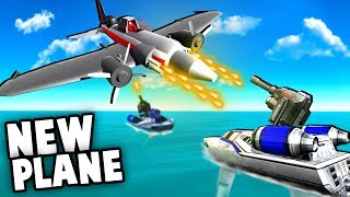 NEW Secret Update!?  Planes vs Battleships, NEW Secret Chopper!? (Ravenfield Battlefield Mod)