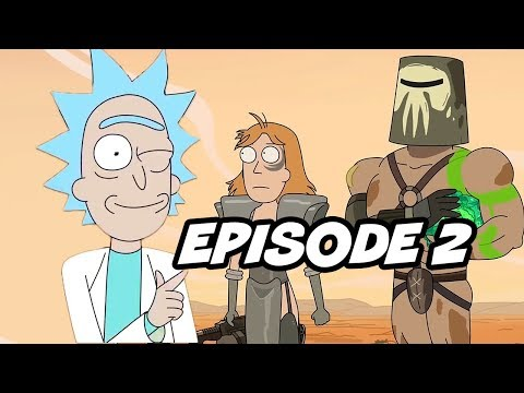 Rick and Morty Season 3 Episode 2 Easter Eggs and References
