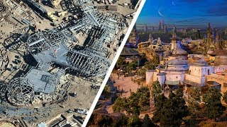 STAR WARS LAND FIRST LOOK - At Disneyland Resort & Walt Disney World Resort Opening 2019