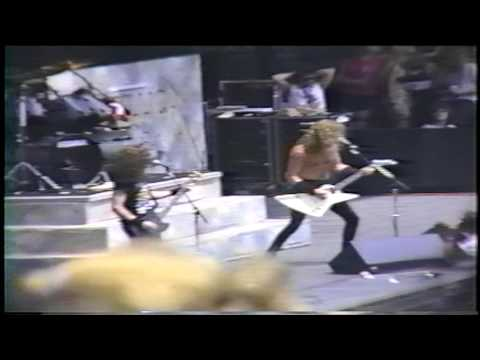 Metallica Harvester Of Sorrow Live In Miami  FL 1988 Mp3