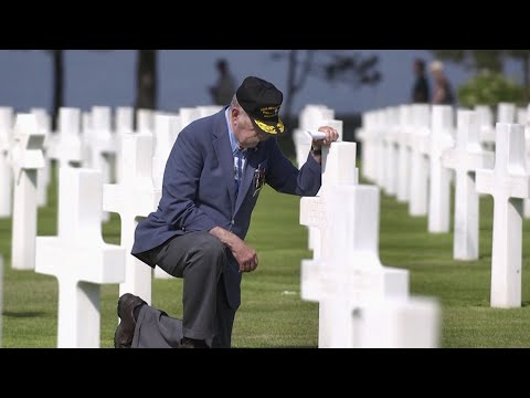 For historians, D-Day was a turning point in the war against Germany. For men who were among the 160,000 Allied fighters who mounted the history's largest amphibious invasion, the day remains a kaleidoscope of memories. (May 24)