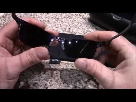 Oakley Carbon Blade (Ice iridium Polarized lens) sunglasses review