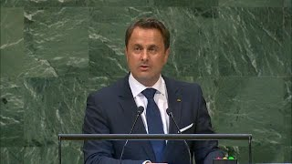 🇱🇺 Luxembourg - Prime Minister Addresses General Debate, 73rd Session