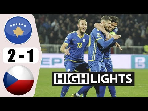 Kosovo 2-1 Czech Republic   ( UEFA Euro 2020 quali...