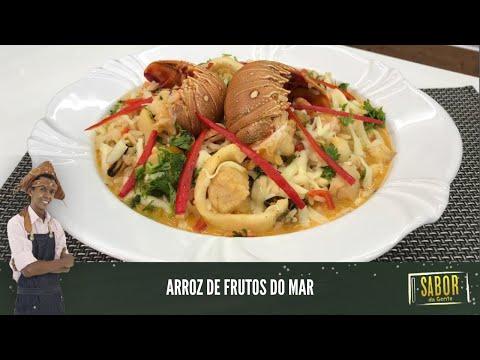 Aprenda a fazer Arroz de Frutos do mar, com o chef Rivandro França