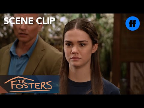 The Fosters | Season 5, Episode 2: Callie Has An Emotional Talk With Her Family | Freeform