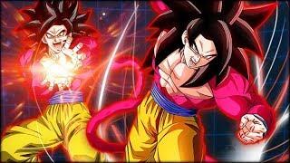 TEQ SUPER SAIYAN 4 GOKU + STR SUPER SAIYAN 4 GOKU! THE DREAM COMBINATION! (DBZ: Dokkan Battle)