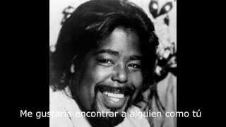 Barry white - Honey please can't ya see traducida español