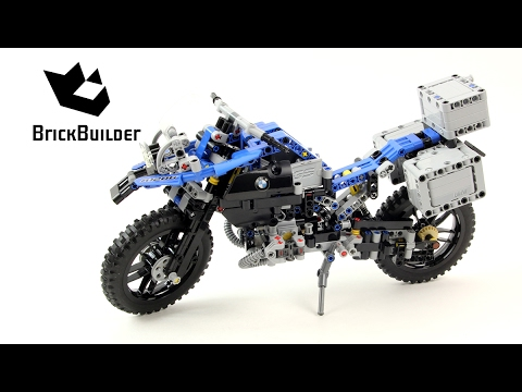 Vidéo LEGO Technic 42063 : BMW R 1200 GS Adventure