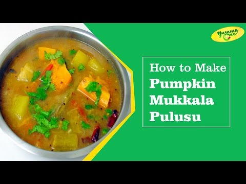 How To Make Pumpkin Mukkala Pulusu || Bharathi's Kitchen || YummyOne
