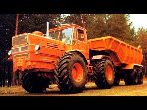 7 советских тракторов на которых перевыполнялись любые планы [ АВТО СССР #12 ]
