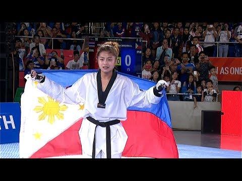 [Sport5]  Philippines vs Cambodia | Taekwondo W -57kg Final | 2019 SEA Games