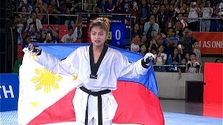 GOLD MEDAL for Pauline Lopez in the women's -57kg category of taekwondo | 2019 SEA Games