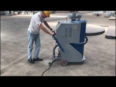 Fabrika Zemin Süpürme Makinası Hortumsuz Emiş Üniteli