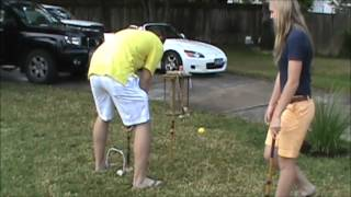 How To Play Croquet