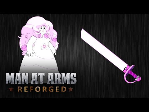 Man At Arms - Steven Universe - Rose Quartz's Sword