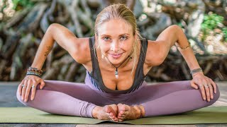 Best Stretches For Hip Pain & Tightness | Sore Muscle Yoga Release
