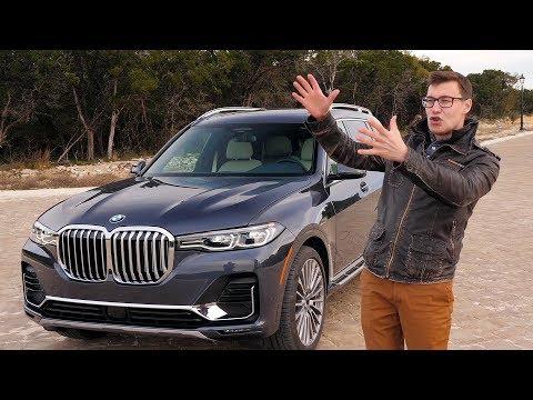 BMW X7: СОВСЕМ НЕ ТАКОЙ, КАК ОЖИДАЛОСЬ – Тест-драйв и обзор БМВ ИКС СЕМЬ (G07) онлайн видео