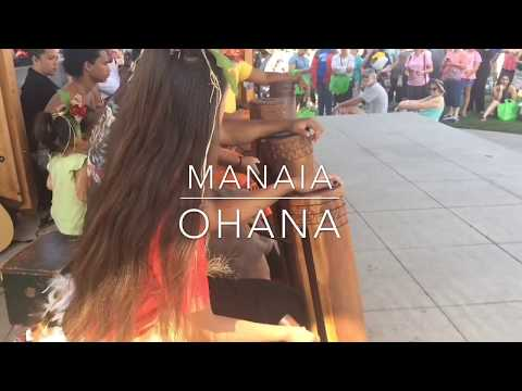 A tahitian routine I taught to the young boys.