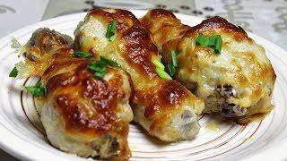 НОЖКИ в чесночном маринаде под сыром | Голени в духовке рецепт