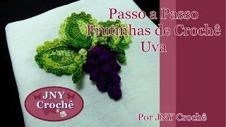 Passo a Passo Frutinhas feitas de Crochê – Uva