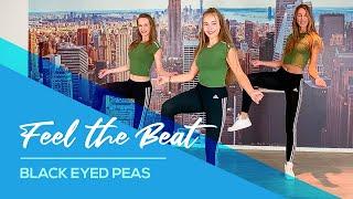 Black Eyed Peas, Maluma - FEEL THE BEAT - Easy Fitness Dance Choreography
