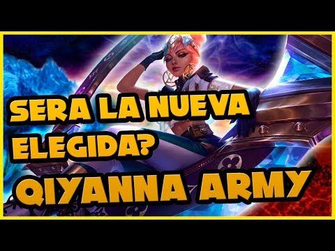 QIYANA ARMY?! - AKALI ELEMENTAL VS EL CARTAS