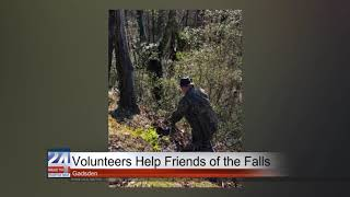 Volunteers Help Friends of the Falls at Noccalula Falls