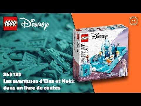 Vidéo LEGO Disney 43189 : Les aventures d'Elsa et Nokk dans un livre de contes